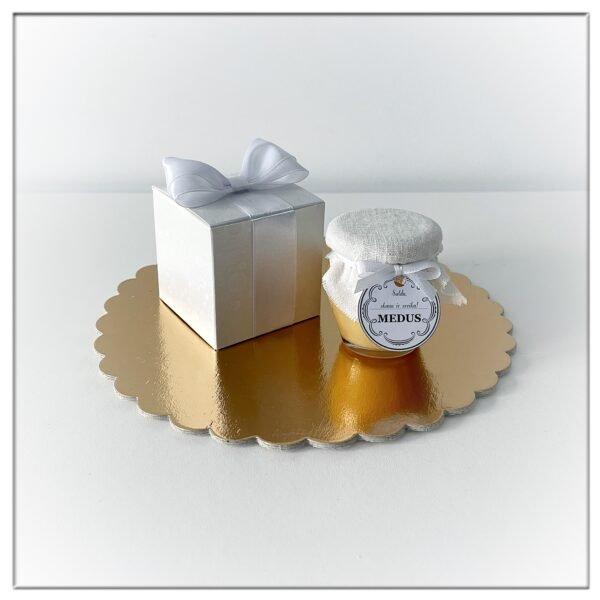 Medaus dovanėlė dėžutėje (11 spalvų variantų) - 150g medaus